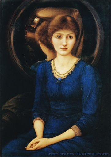 Margaret Burne-Jones, 1885 painted by Edward Burne-Jones.