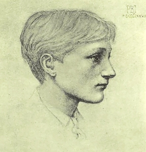 Philip Burne-Jones aged about 17 by Edward Burne-Jones.
