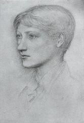 Portrait of the artist's son, Philip by Edward Burne-Jones.