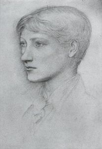 Portrait of the artist's son, Philip by Edward Burne-Jones.