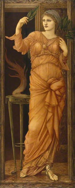 Sibylla Delphica, by Edward Burne-Jones.