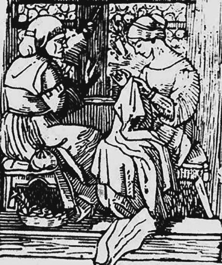 Woodcut by Georgiana Burne-Jones.