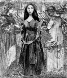 "Georgiana muse set in ""Going To The Battle"". Georgiana Burne-Jones muse designed, sculpted, modelled and painted by Marina ElphickGeorgiana Burne-Jones muse designed, sculpted, modelled and painted by Marina Elphick. Marina's muses at marinamade.me"