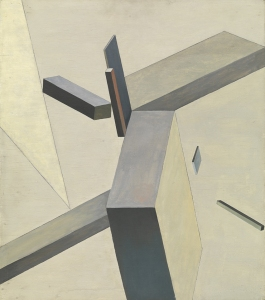 'Composition', 1922, by El Lissitzky.