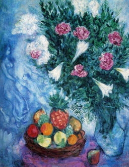 Fruits and Flowers, Marc Chagall 1929