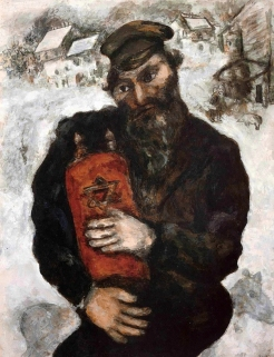 Jew with the Torah, 1925 Marc Chagall