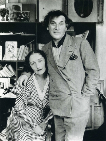 Marc and Bella Chagall, Paris, 1929. Bella Rosenfeld, Bella Chagall.