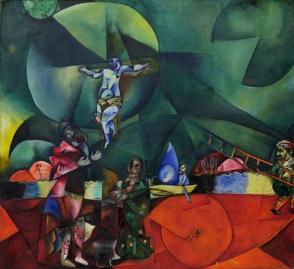 Marc Chagall, 1912, Calvary (Golgotha)