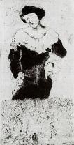Bella, 1925 Marc Chagall.