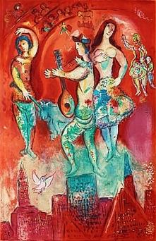 Carmen, Lithograph bynMarc Chagall, 1966.