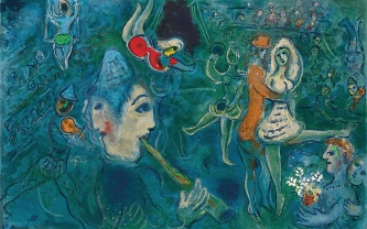 Le Cirque by Marc Chagall.