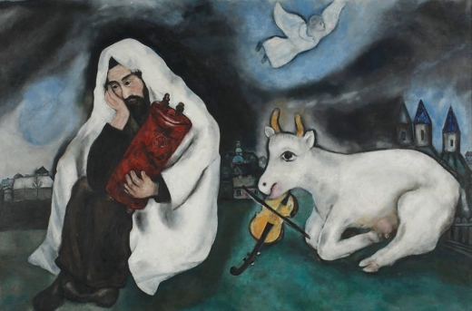'Solitude' 1933 by Marc Chagall