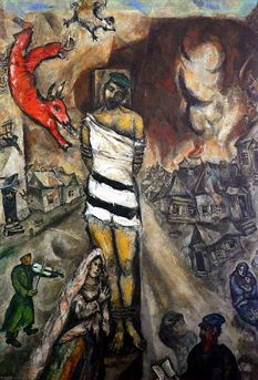 The Martyr, Marc Chagall