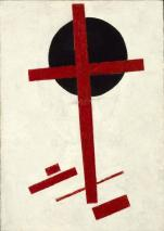 Mystic Suprematism, 1918 by Kazimir Malevich.