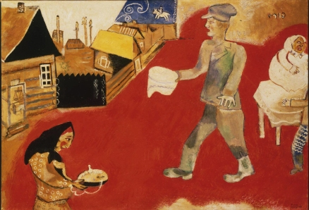 'Purim', by Marc Chagall, 1917