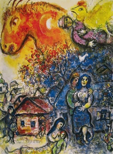 'The Joy of the Village', Marc Chagall.