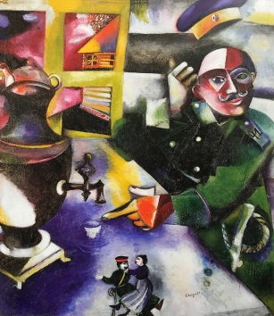 The Soldier Drinks, Marc Chagall 1911-12