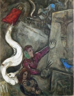 The Soul of the City, Marc Chagall.