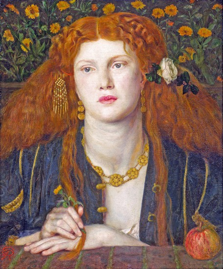 Fanny Cornforth painting.
