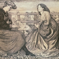 Burne-Jones drawing 1861.