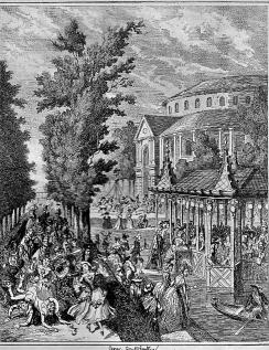 Pleasure Gardens 1850