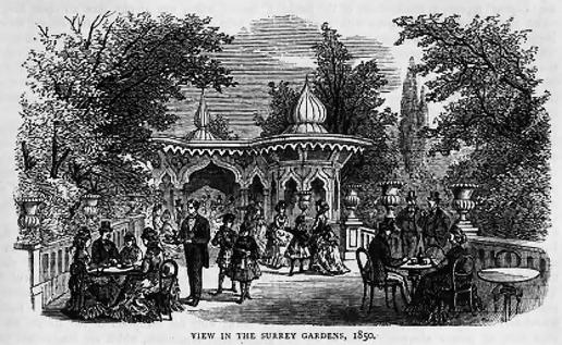 Surrey Gardens 1850