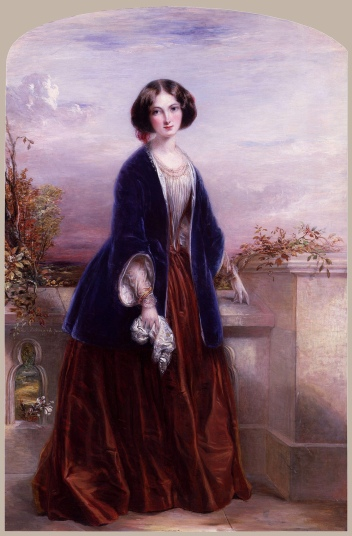 Euphemia Chalmers Gray, by Thomas Richmond.