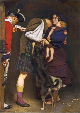 'The Order of Release, 1746', (painted 1853) by John Everett Millais.