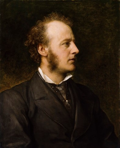 Sir John Everett Millais, by George Frederic Watts, 1871.