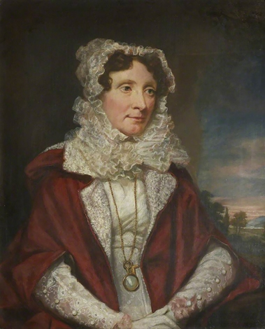 Portrait of Margaret Ruskin (1781-1871) by James Northcote.