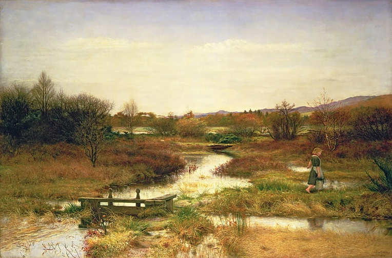 Lingering Autumn, 1890, by Sir John Everett Millais