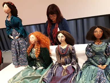 After a talk at York University, during the 'Pre-Raphaelite Sisters: Making Art' conference