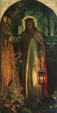 'The Light of the World,, by William Holman Hunt, 1851-52 Oil on canvas.
