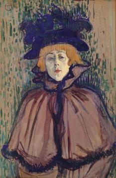 Jane Avril c. 1891-92, Henri de Toulouse-Lautrec.