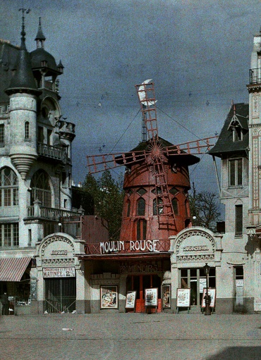 Moulin Rouge, Paris 1914