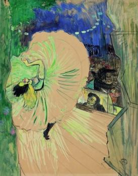 La Roue, Henri de Toulouse-Lautrec, 1893.