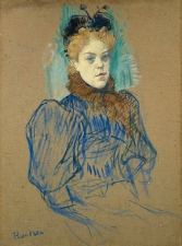 May Milton, by Henri de Toulouse Lautrec, 1895.