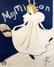 May Milton, 1895 poster designed by Toulouse-Lautrec.