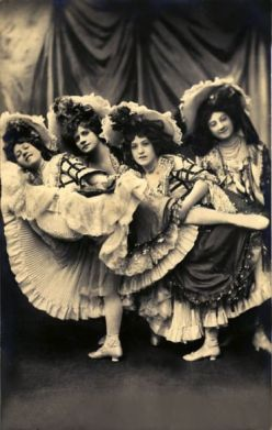The Quadrille, Moulin Rouge, Paris 1890's.