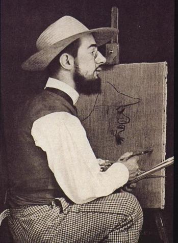 Henri de Toulouse-Lautrec painting.