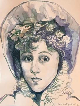 illustration of Jeanne Beaudon