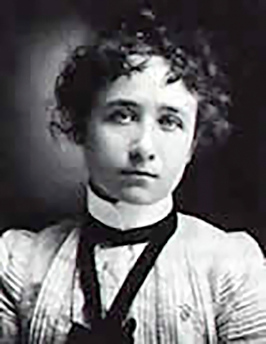 A young Gabriele Münter.