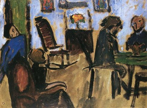 After Tea I ,Gabriele Münter, 1912.