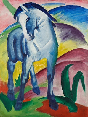 Blue Horse I, Franz Marc, 1911.