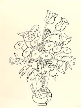 Bunch of Spring Flowers 1952 G. Münter
