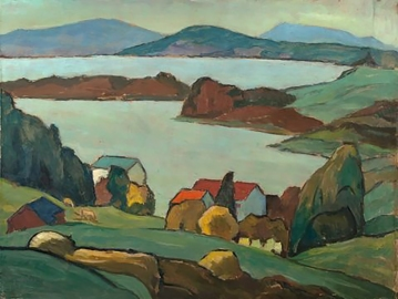 Staffelsee, 1933, by Gabriele Münter.