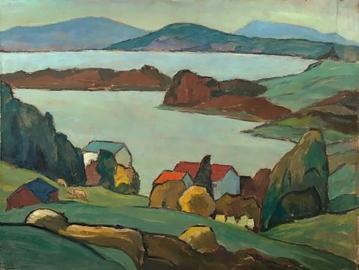 Staffelsee, 1933, by Gabriele Münter.