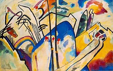 Impression 111, Wassily Kandinsky, 1911.