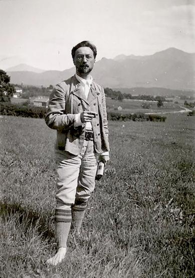 Kandinsky in Murnau, 1909