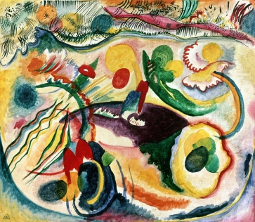 On the Theme of the Last Judgement 1913, Kandinsky.